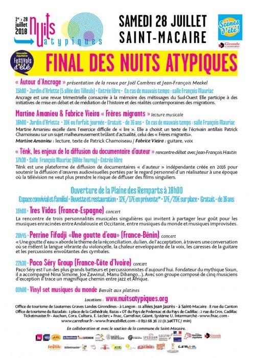 Nuits Atypiques - 28 juillet - St-Macaire - WEB
