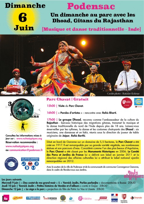 Nuits Atypiques - 6 juin Dhoad