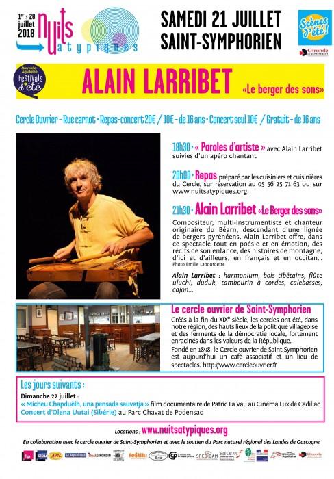 Nuits Atypiques - A.Larribet- 21 juillet -Saint-Symphorien- PRINT