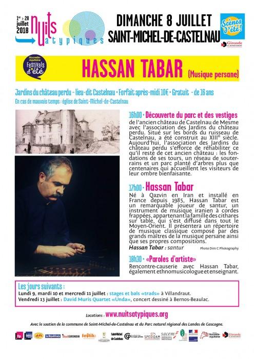 Nuits Atypiques - Hassan Tabar - 8juillet - St-Michel-de-C - WEB