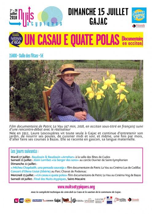 Nuits Atypiques - Un casau - 15 juillet - Gajac - WEB