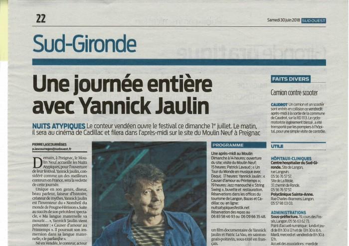 RP SO samedi 30 juin Sud Gironde