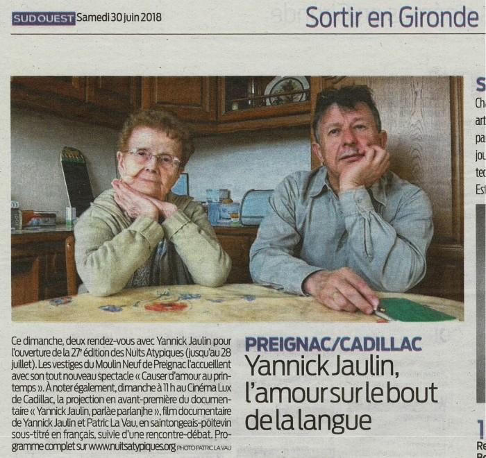 RP SO samedi 30 juin sortir en Gironde - rec