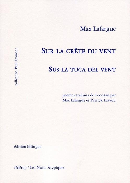 Max Lafargue Sus la tuca del vent Couverture